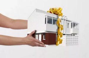 Оформить дарственную на дом